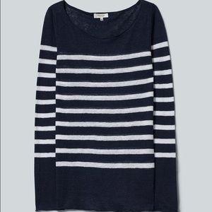 Aritzia Babaton Hobart Striped Sweater Size M